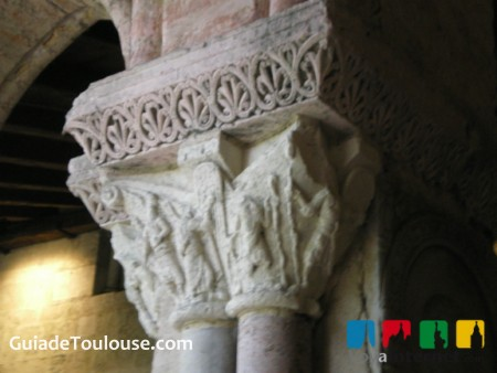 Capitel Abadia Moissac